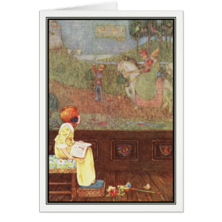 Faded Tapestry by Millicent Sowerby Card