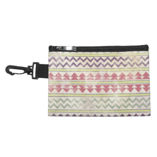 Faded Tribal Inspired Clip On Accessory Bag