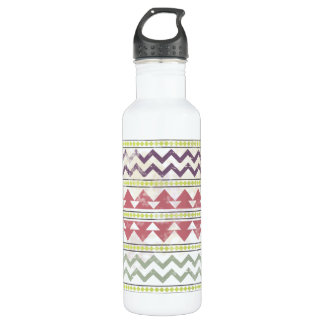 Faded Tribal Inspired 24oz Water Bottle