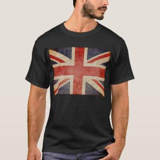 Faded UK Flag T-Shirt