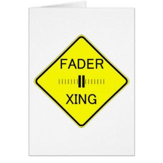 Fader Crossing Card