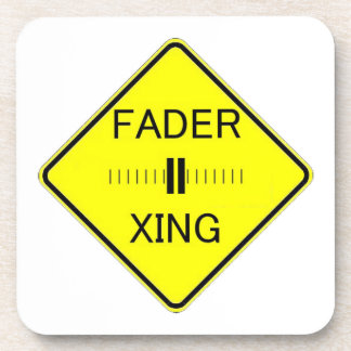 Fader Crossing Drink Coaster