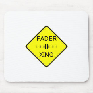 Fader Crossing Mouse Pad