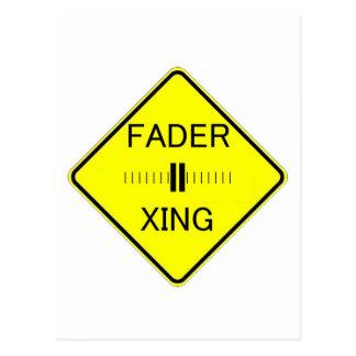 Fader Crossing Postcard