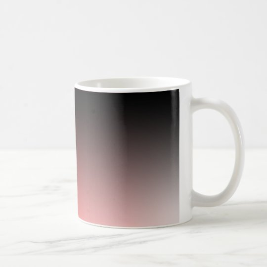 Fades: Black and Red Coffee Mug
