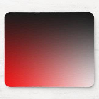 Fades: Black and Red Mouse Pad