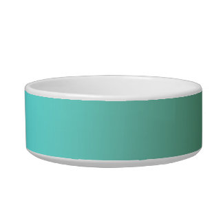 Fades: Dark Green and Light Blue Bowl