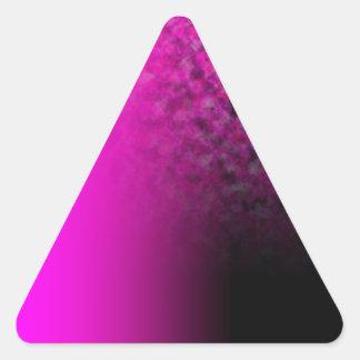 Fades: Magenta and Cloud Triangle Sticker
