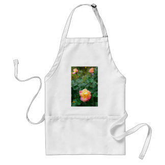 Fades wet autumn rose with blur adult apron