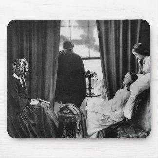 Fading Away ~  Waiting For Death Vintage Daguerre Mouse Pad