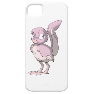 Fading Berry Yogurt Reptilian Bird Art iPhone Case