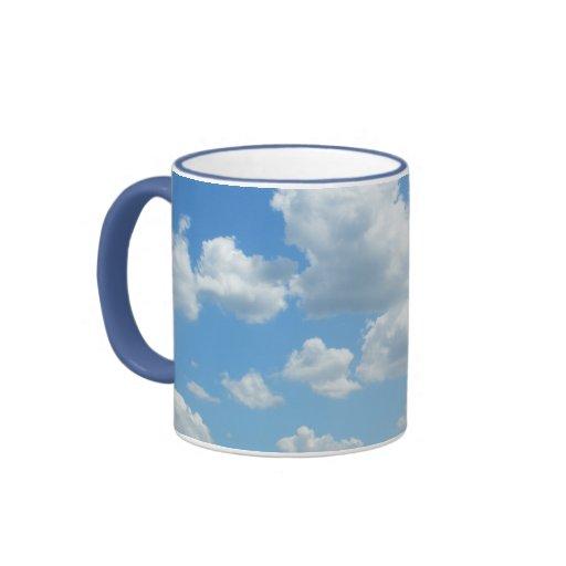 Fading Blues Coffee Mugs