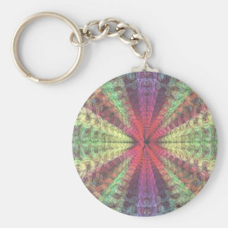 fading, colorful,abstract keychain