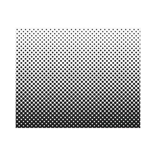 FADING DOTS WALL ART Wrapped Canvas Gallery Wrapped Canvas
