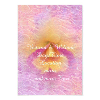 Fading dream of summer 5x7 paper invitation card