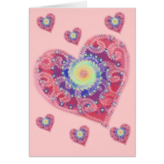 Fading Heart Greeting Card