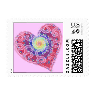 Fading Heart Postage