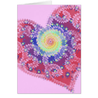 Fading Heart Valentine's Day Card