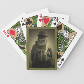 Fading into the Silence Bicycle Playing Cards