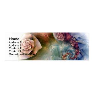 fading memories mini business card