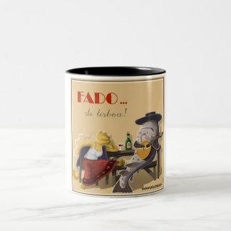 fadistas good-looking and cod Two-Tone coffee mug