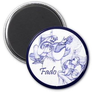 Fado singer magnet