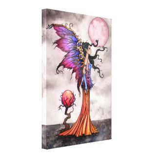 Fae Abigail Wrapped Canvas Print