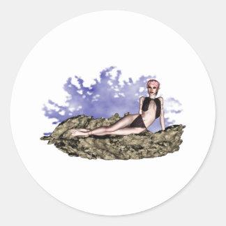Fae Fantastique 002 Classic Round Sticker