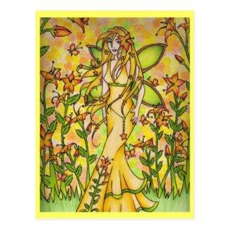 Fae Flora Postcard