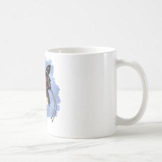 Fae frívolo 001 taza básica blanca