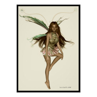 Fae II Antique Poster