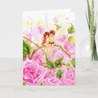 Fae Love Card zazzle_card