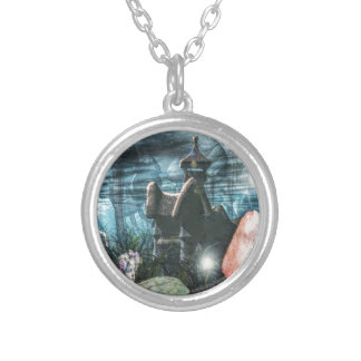 Fae Magic Silver Plated Necklace