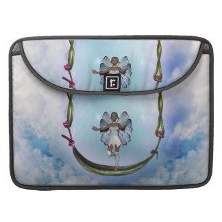 Fae on Swing MacBook Pro Sleeve