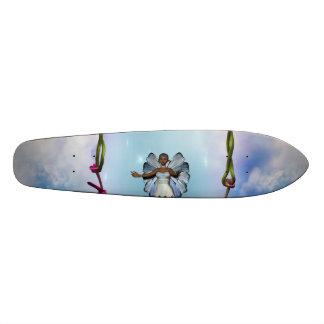 Fae on Swing Skateboard Deck