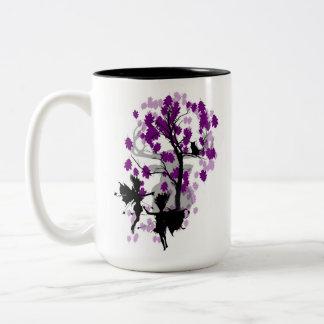 Fae See Faun Mug/Cup 2 Two-Tone Coffee Mug