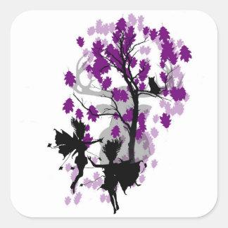 Fae See Faun Sticker