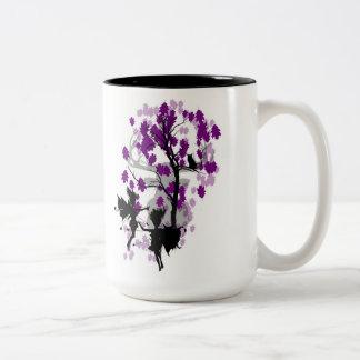 Fae See Faun Two Tone Mug/Cup Two-Tone Coffee Mug