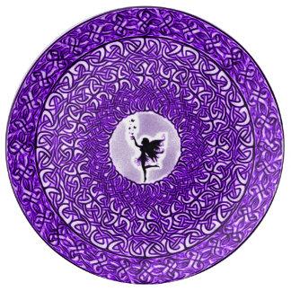 Fae Spiritual Healing Mandala Plate
