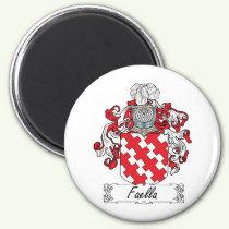 Faella Family Crest Magnet