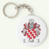 Faella Family Crest Keychain
