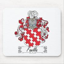 Faella Family Crest Mousepad