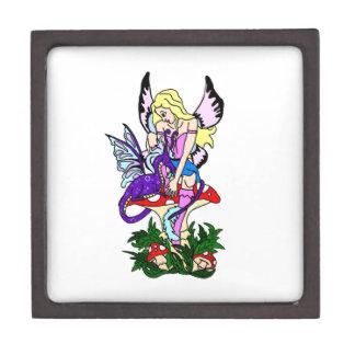 Faerie and Pseudo Dragon Premium Jewelry Box