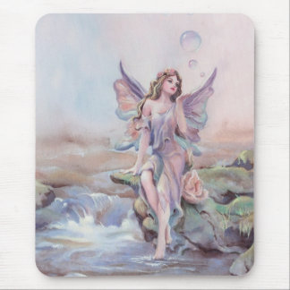 FAERIE BUBBLES by SHARON SHARPE Mouse Pad