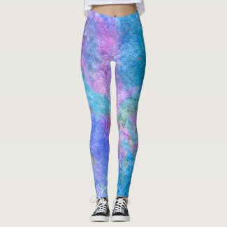 Faerie: Clam Shell, Hoki, Ambae & Amethyst Leggings