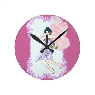 Faerie colorido del Victorian Relojes