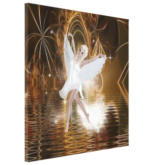 Faerie Dancer Wrapped Canvas