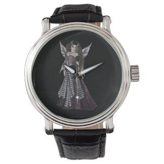 Faerie de la hada del estilo de Steampunk Relojes De Pulsera