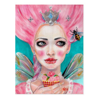Faerie de la magdalena de Marie Antonieta - abeja Postal