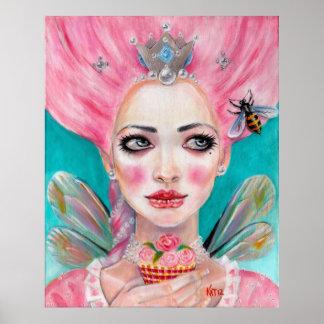 Faerie de la magdalena de Marie Antonieta - poster
